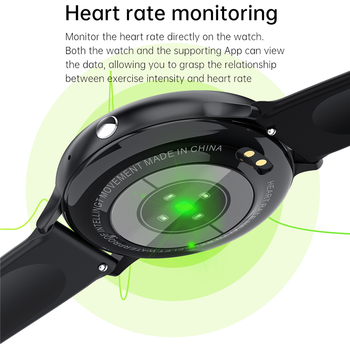 LIGE New 2021 Smart Watch Men Full Touch Screen Sports Fitness Watch IP67 Waterproof Bluetooth For Android ios smartwatch Mens 6