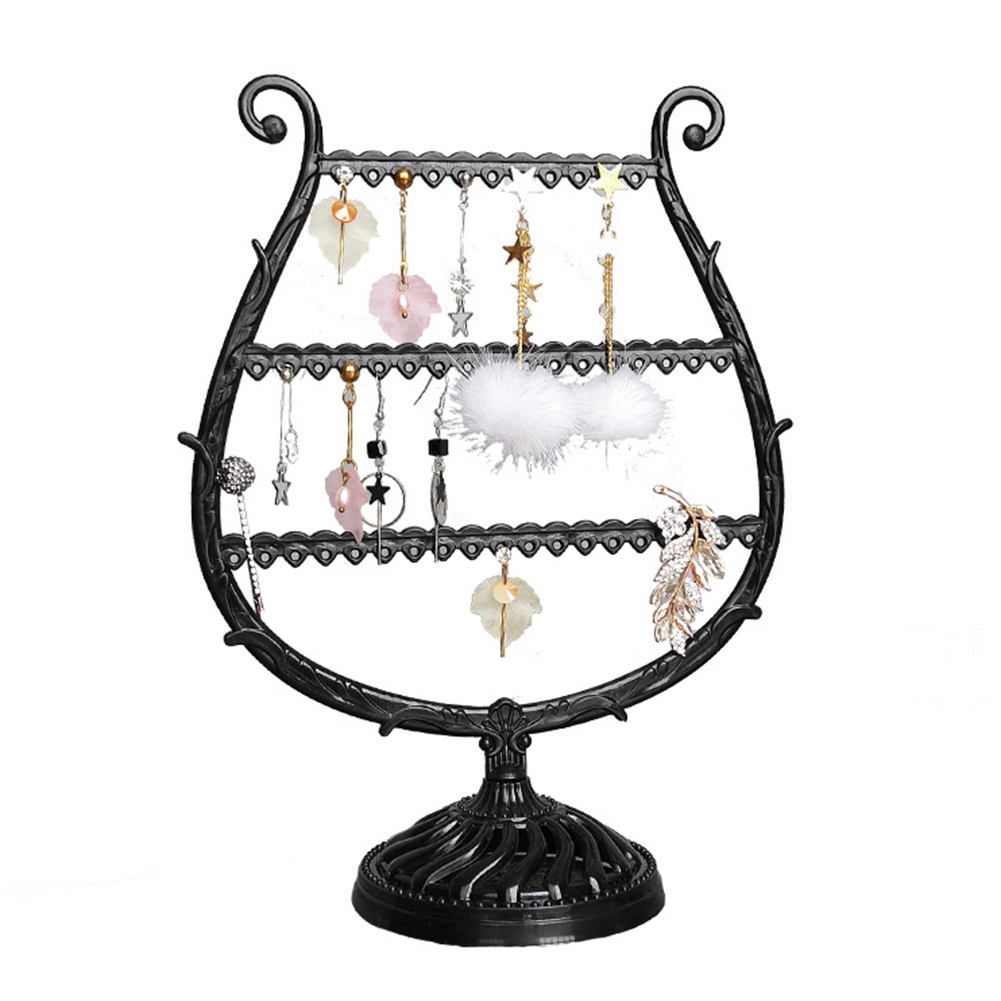 Fashion Large Size Display Stand For Earrings Antler Tree Earring Necklace Organizer Display Stand Holder Jewelry Storage Rack