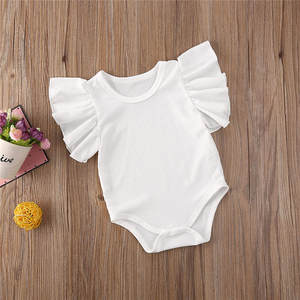 Infant Bodysuit Bebe Newborn Baby-Girl Sleeveless Romper Cotton