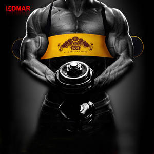 DMAR Weightlifting Arm Blaster Adjustable Aluminum Alloy Bomber Biceps Curl Triceps Board Muscle Exercise Fitness Gym Equipment