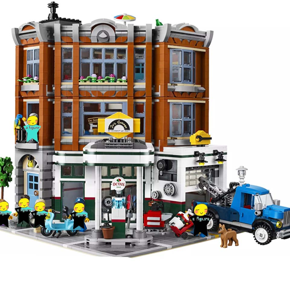 5003pcs City Creator The dinosaur museum MOC Model Building Kits Brick Toy Compatible legoinglys city Christmas gifts
