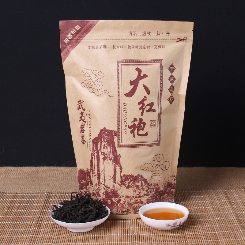 Chinese Da-Hong-Pao Tea Big Red Robe Oolong Tea The Original Green Food Wuyi Rougui Tea For Health Care Lose Weight