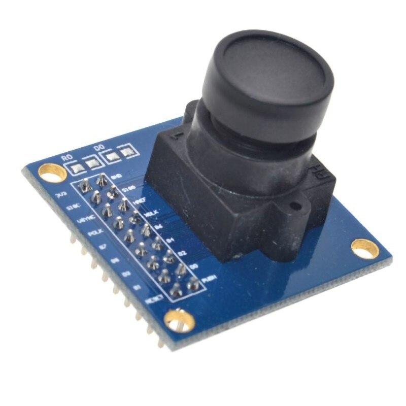 رقاقة واحدة محرك كاميرا وحدة إصلاح أجزاء OV7670 كاميرا وحدة يستخدم FIFO STM32 مجلس التنمية لدفع