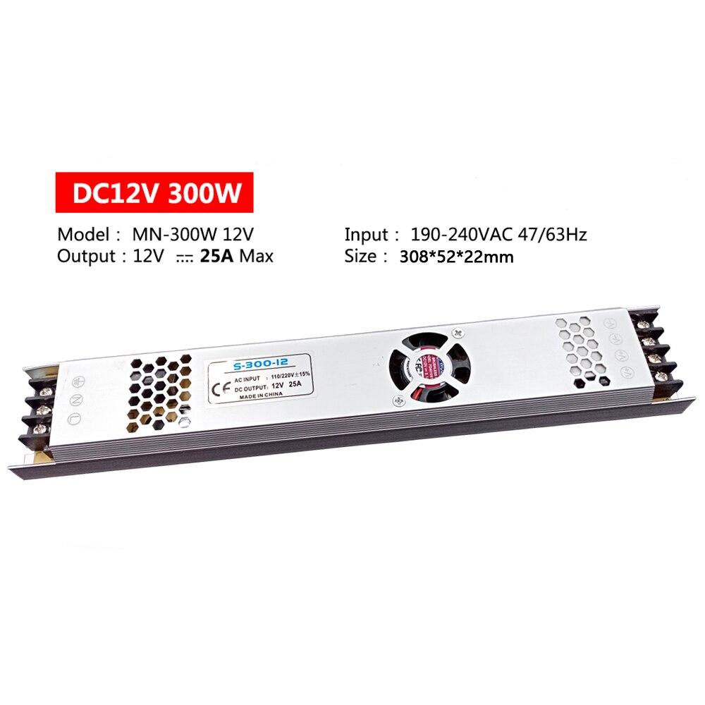 Купить ультра тонкий светодиодный ac dc питание трансформатор 220 в