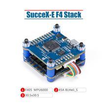 Система FlyTower iFlight sucex E F4 с поддержкой sucex E F4 FC(MPU6000)/sucex E 45A 2 6S BLHeli_S D600 4 в 1 ESC для дрона FPV
