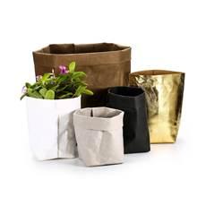 Лидер продаж современные моющиеся пакеты из крафт бумаги высокого