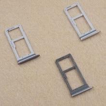 Одноместный/двойной металлический пластиковый нано лоток для sim-карты держатель для samsung Galaxy S7 G930 G930F золото/серебро/серый