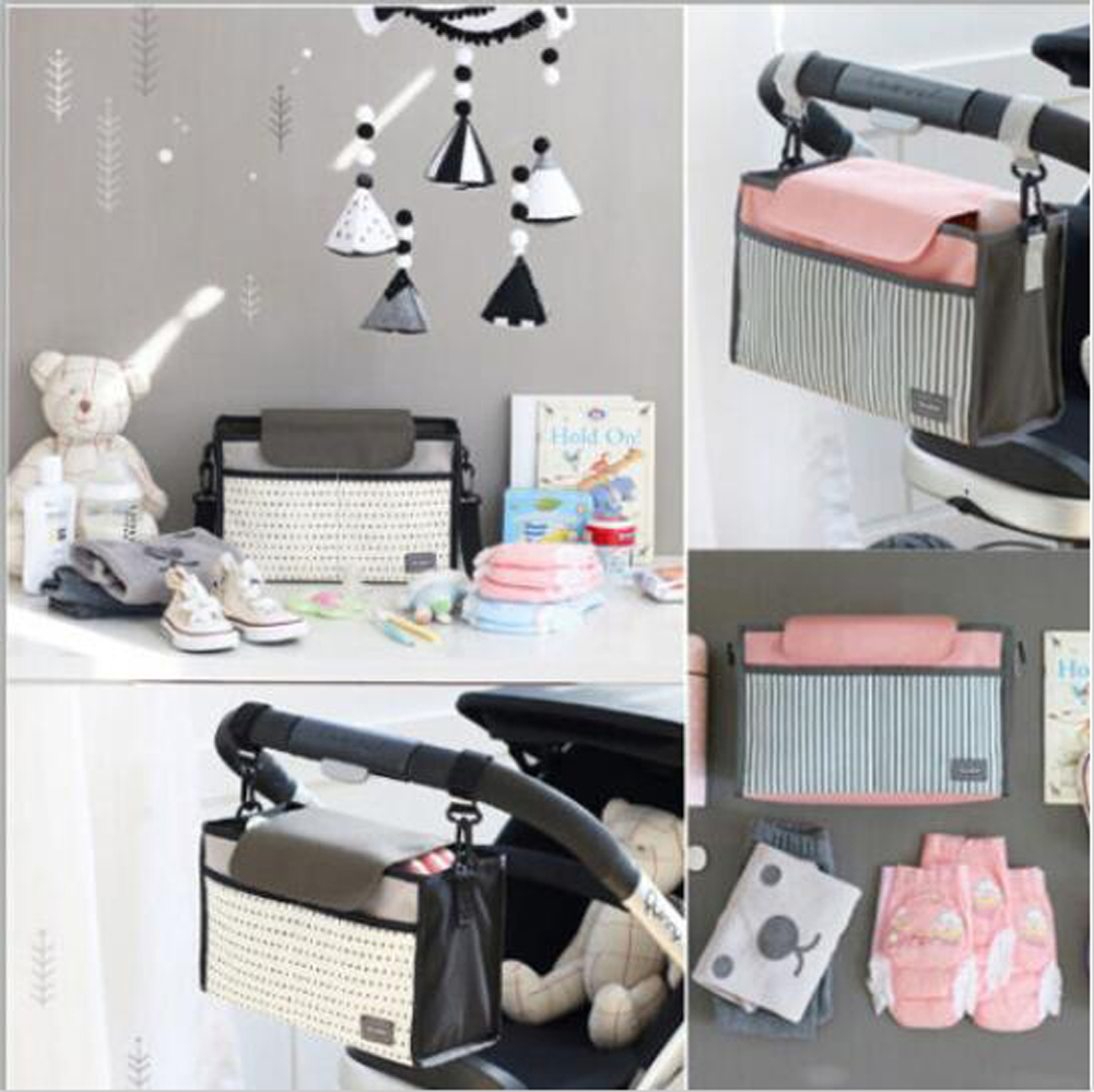 HOT2019Portable Multifunctional Baby Diaper Bag for Stroller Hanging Mummy Bag