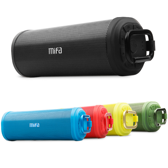 MIFA F5 haut parleur stéréo sans fil Bluetooth portable Bluetooth 4.0 haut parleurs extérieurs DSP 3D surround son stéréo Micro carte USB
