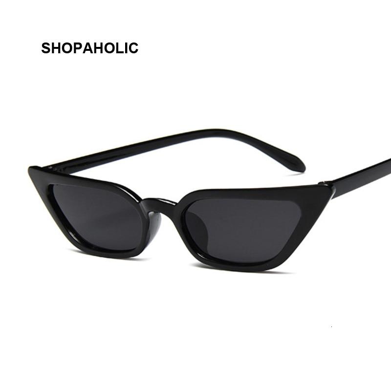 Small Cat Eye Sunglasses Women Brand Designer Fashion Retro Ladies Sun Glasses Female Black Pink Red Oculos De Sol Feminino