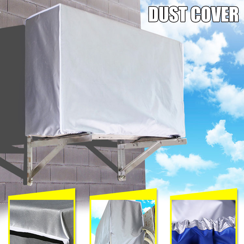 Air Conditioner Cover Anti-Dust Anti-Snow Waterproof Sunproof Conditioner Protectors for Outdoor YG