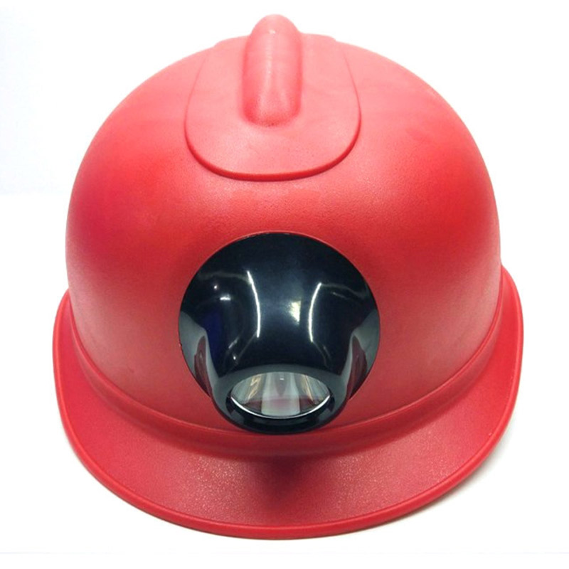 Safety Helmet With Lamp Miners Work Cap Lamp Charging Headlights Hard Hat For Construction Working Protective Helmets