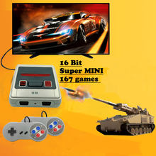 Console de jeu vidéo Mini TV Super rétro, pour Sega Mega Drive MD, jeux 16 bits, 167 jeux intégrés différents, deux manettes de jeu, sortie AV, nouveau