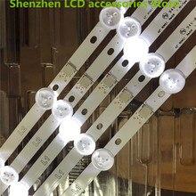 """30 ชิ้น/ล็อต, ใช้ส่วนเดิม 42 """"LED Strip สำหรับ LG 42LN540C 42"""" LED TV LC420DUE (SF) (R3) 6916L 1387A R1 + L1 = 824 มม.100% ใหม่"""