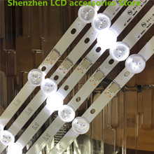 "30 Pieces/lot, used part original 42""LED strip  For  LG 42LN540C 42"" LED TV LC420DUE (SF) (R3) 6916L 1387A  R1+L1=824MM 100%NEW"