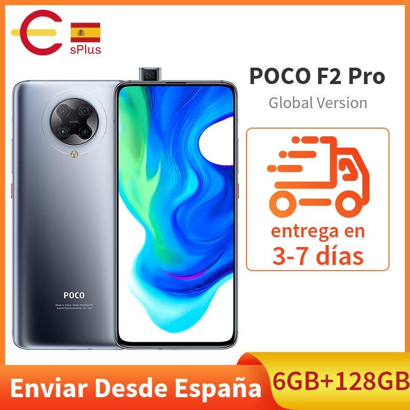Globale Versione Xiaomi POCO F2 Pro 6GB 128GB Cellulare Snapdragon 865 64MP Quad Posteriore Telecamere 6.67