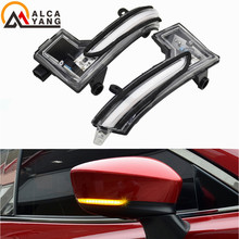 Fit for Mazda6 Mazda 6 Atenza 2018 Side Wing Rearview Mirror Indicator Sequential Blinker Lamp