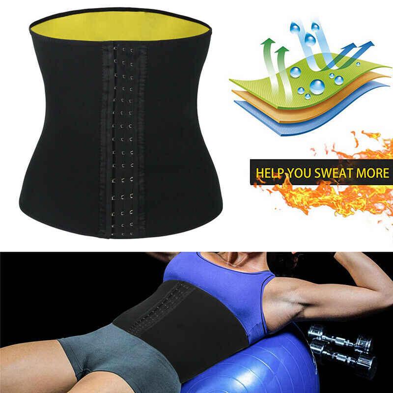 CXZD Для женщин Горячая тренировочный потение тела коррекция фигуры, тренировка для талии, тренинговый корсет для контроля за животом утягивающий пояс Корректирующее белье для похудения Пояс