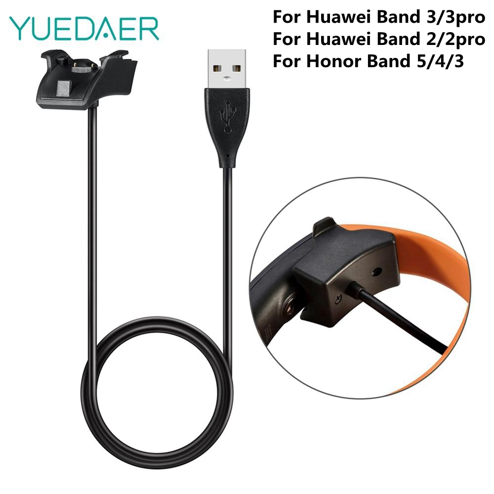 Yuedaer Cradle Dock Charger For Honor Band 5 Honor Band 4 Smart Bracelet USB Magnetic Charging Cable For Huawei Band 3 Pro 2 Pro