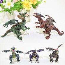 Стерео Собранный бой вставленная модель динозавра собранная модель дракона игрушка детская развивающая игрушка