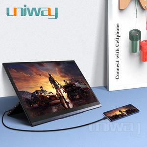 Image 3 - Uniway 4k hdr portable monitor touch screen 15.6 hdmi type c for laptop computer phone xbox switch ps3 ps4 gaming monitor