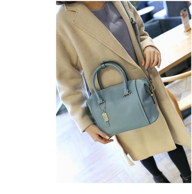 100% Genuine leather Women handbags Luxury Brand Handbags Women Bags  Designer Casual Genuine Leather Bags For Women Tassel 6