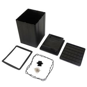 Image 5 - صندوق ألومنيوم عالي الجودة ببطارية 18650 مع غطاء بلاستيكي ABS