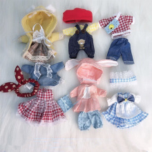 16 Cm Dress Up Accessories OB11 Doll Clothes Suit 1/8 Bjd Baby Clothes Dress Skirt