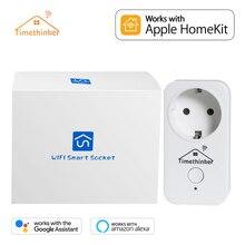Timethinker Smart Home WiFi Plug Homekit Socket for Apple Siri Alexa Google AU UK US EU Outlet APP Remote Control