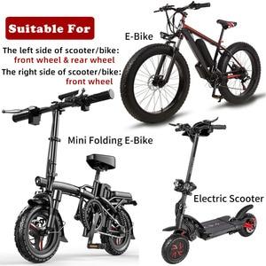 Image 2 - ותאט MTB E אופניים חשמלי E קטנוע אופניים הידראולי בלם דיסק 140mm 160 180 הרוטור שומן מיני KUGOO G בוסטרים/G1/ES3 Dualtron