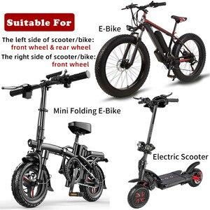 Image 2 - NUTT MTB e bike elettrico E Scooter bicicletta disco freno idraulico 140mm 160 180 rotore Fat Mini KUGOO G Booster / G1 / ES3 duinclon