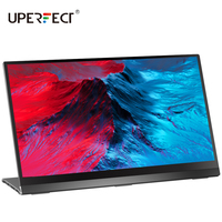 UPERFECT Portable Monitor 15.6''4K LCD HD HDMI USB Type C Display for PC Laptop Phone PS4 Switch XBOX 1080P Touch Gaming Screen