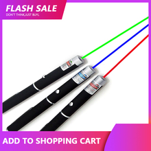 Laser-Pointer Lazer Red Dot Green 650nm 405nm Blue High-Power 5MW