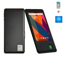 Impressão digital quente das vendas da tabuleta da chamada do telefone 7 polegada mtk8735 1gb/8gb android 8.1 gsm portas sim duplas ips tela quad core 4000mah