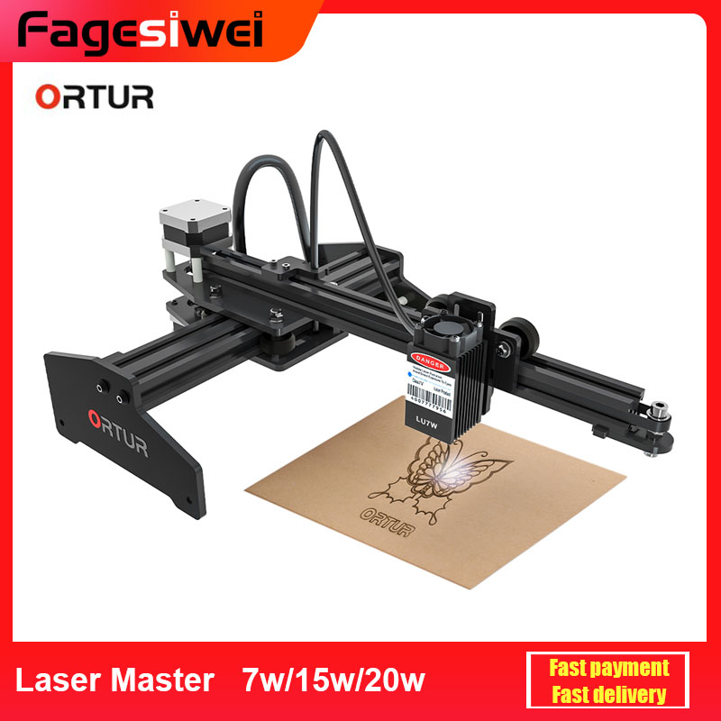 2020 Ortur Laser MASTER 20W Engraving Machine 32-Bit DIY Laser Engraver Metal Cutting Printer For Windows with Safety Protection