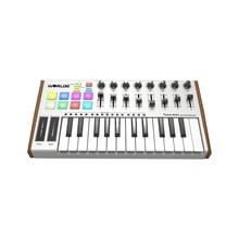 Keyboard-Controller Cable MIDI WORLDE Professional Mini Electronic USB TUNA with 25-Keys