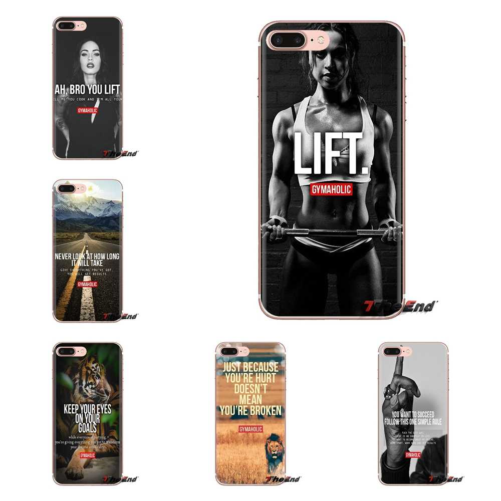 Best Fitness Daily motivation Soft Silicone Case For Huawei G7 G8 P7 P8 P9 P10 P20 P30 Lite Mini Pro P Smart Plus 2017 2018 2019