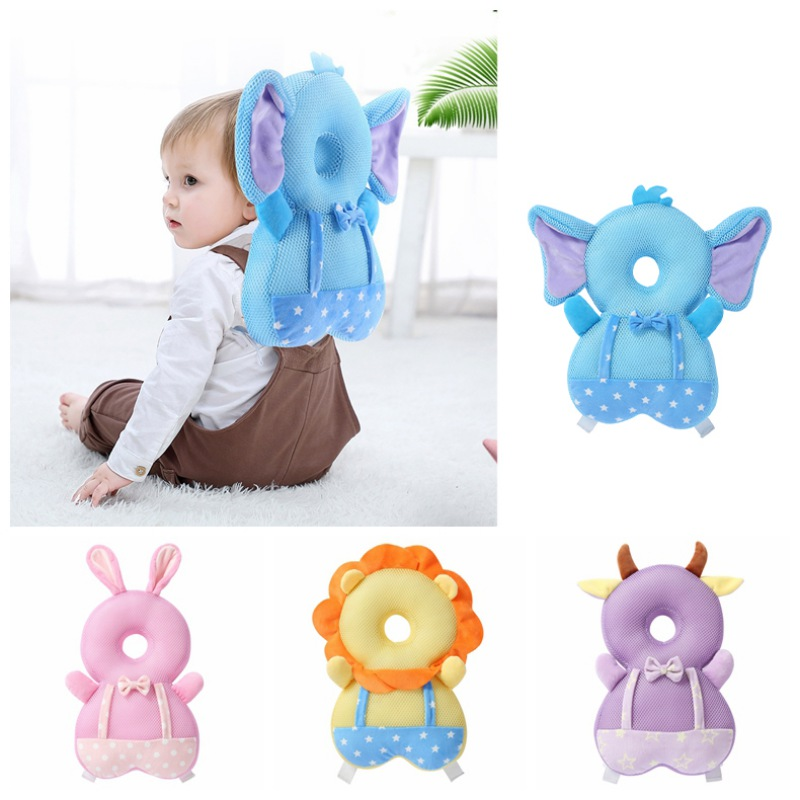 Baby Walkers Protective Head And Shoulder Protector For Preventing Head Injured Adjustable Infant Safety Pads For Toddlers Infan