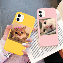 Fundas Tpu Case Lovebay iPhone 11 Cute for Soft Cat Dog-Pattern And 5S 6s-Plus Pro Max