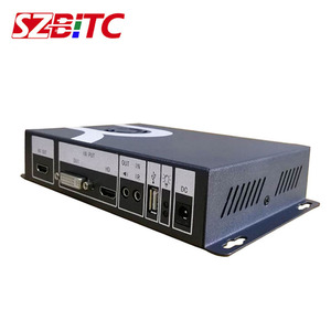 Image 3 - SZBITC دوران الفيديو تحكم دوران 90 180 270 360 درجة USB/HDMI/DVI/Audio 1080P معالج الفيديو مع جهاز التحكم عن بعد