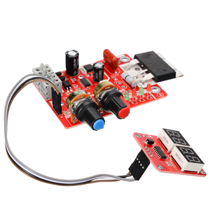 Image 3 - 100A Digital Spot Welder Machine Time Control Board Spot Welding Adjust Time & Current Transformer Controller Panel Module