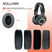 NullMini Replacement Thicken Earpads Headband for ATH M50x, ATH M50xBT, ATH M40x, ATH M30x, ATH M20x, ATH M70x, ATH MSR7 Headset
