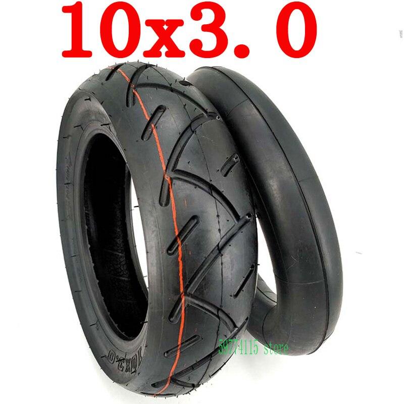 10x3.0 tubo interno externo pneu 10*3.0 espessamento pneu para kugoo m4 pro scooter elétrico ir karts atv quad speedway pneu