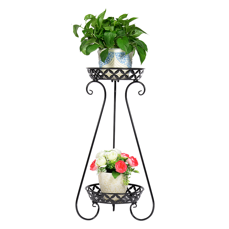 Art Flower Rack Multi-storey To Ground Flowerpot Shelves Green Luo Chlorophytum Flower Airs A Living Room Room Built-in Rack