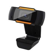 Webcam 1080P 720P 480P Full HD Web Cam era dahili mikrofon dönebilen USB fişi Web Cam için PC bilgisayar Mac dizüstü masaüstü