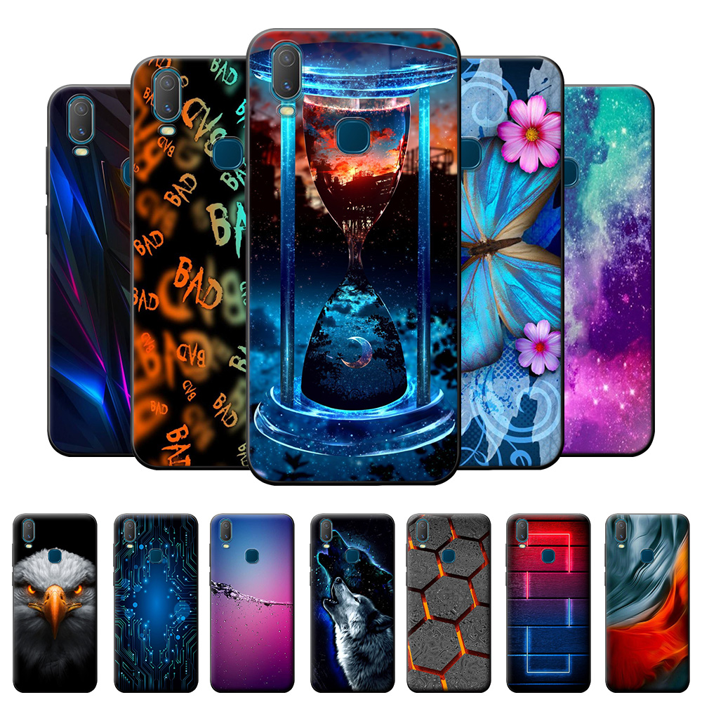 Case For Vivo Y11 2019 Cases For Vivo 1906 Y11 2019 TPU Cover Silicone Soft TPU Cartoon Phone Case For Vivo Y11 2019  Funda Capa