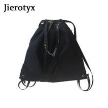 Crossbody-Bags Teenagers Double-Shoulder-Strap Casual Fashion Women's Cool JIEROTYX High-Capacity