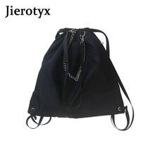 Повседневная Вместительная женская сумка через плечо jierotyx