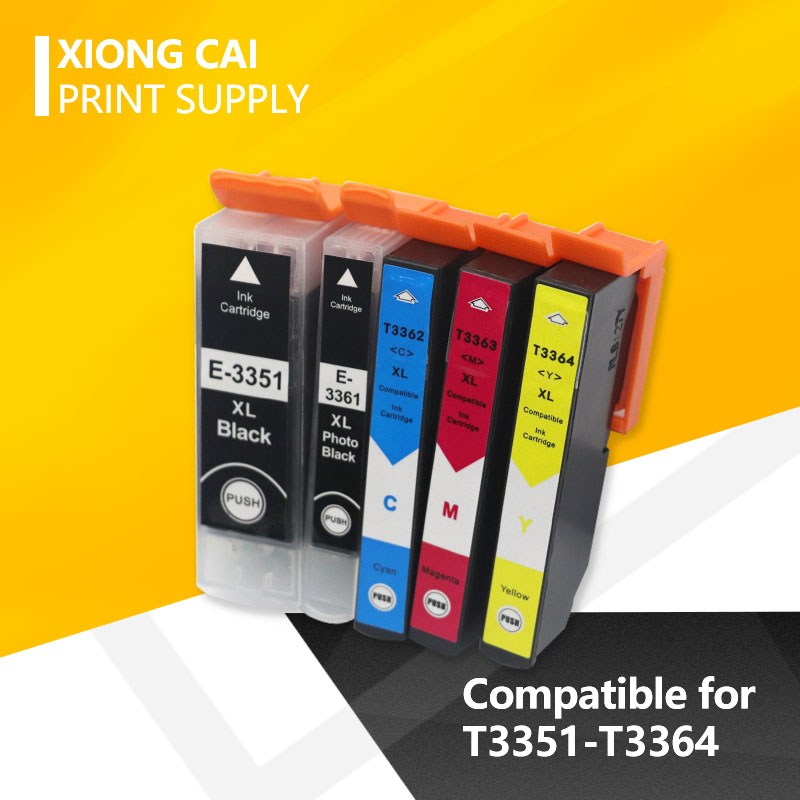 T33 33XL T3351-3364  Compatible Ink Cartridge For Epson  XP-530 XP-630 XP-830 XP-635 XP-540 XP-640 XP-645  XP-900 Printer