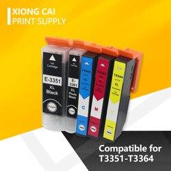 T33 33XL T3351 3364 kompatybilny tusz kartridż do epson XP 530 XP 630 XP 830 XP 635 XP 540 XP 640 XP 645 XP 900 drukarki|Części drukarki|Komputer i biuro -